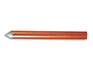 Mechanically Claded / Coated Copper Grounding Rod