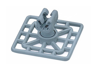 Square Type Earth - Clamp Holder - Plastic Nylon Six